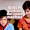 Mike Teevee wants nachos [iconzicons], go make me nachos