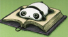 Dominique: panda_book