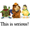 this is SERIOUS! (wonder pets)