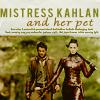 Kahlan has a nice pet