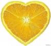 Апельсиновое сердце