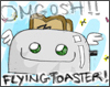 randon flying toaster
