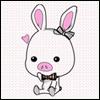 YB: pig rabbit chibi
