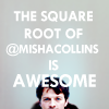 downloadableindifference: spn misha is awesome squared