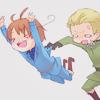 (ノ' ワ ')ノ: Italy and Germany - whee