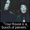 you house is a bunch of perverts