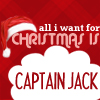 All I want for Christmas is Captain Jack