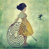 labyrinth hoop