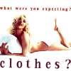 no clothes