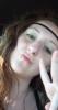 hippy, white girl, me
