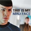 Spock mad face
