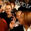 Cara: Dude!