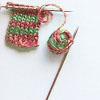 She's knitting stockings [Xmas]