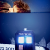 doctor/tardis on top of the world
