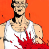 blood on shirt!Walter