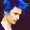 matt- blue hair