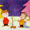 christmas: charlie brown & linus
