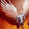 Archangel || Warren Worthington III || Angel: chillaxed
