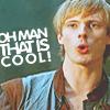 screamingchair: merlin - arthur that's cool