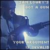 (ooc) sam lowry's got a gun
