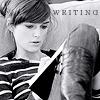 {Actress} Keira § Writing | B&W