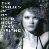 snakes in my head