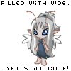 Cute Grey Faerie