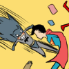 superhero batman beats superman