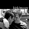Sky: [star trek aos] kirk/mccoy b&w