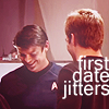 Sky: [star trek aos] first date jitters