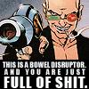 Bowel disruptor