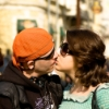блондинка-комсомолка: kiss
