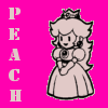 Petrel Accidentally My Ovaries: Mario - Paper Peach