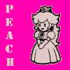 Mario - Paper Peach