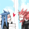 Kingdom Hearts - Saix/Axel