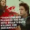 Edward kills Bella