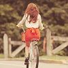 erin marie ♥: girl riding bike