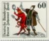 Фауст с Мефистофелем на марке
