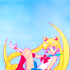 moon, usagi, sitting
