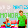 bbt which panties on monday