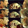 tony_edw_stark: iron man 2: helmet kiss