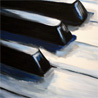 The One with the Cauldron: piano keys Art: Todd Horne