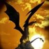 dragon at sunset by jpren678