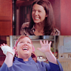 Lorelai Gilmore: happy: sookie!