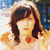 It's hard to dance with a devil on your back: zooey deschanel heart