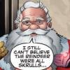 comics - santa: skrulls