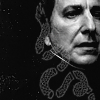 Char: Severus Snape - B&W Snake