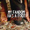 samsom: foot fetish