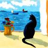 кот море