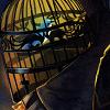 Umineko - Bird in a cage